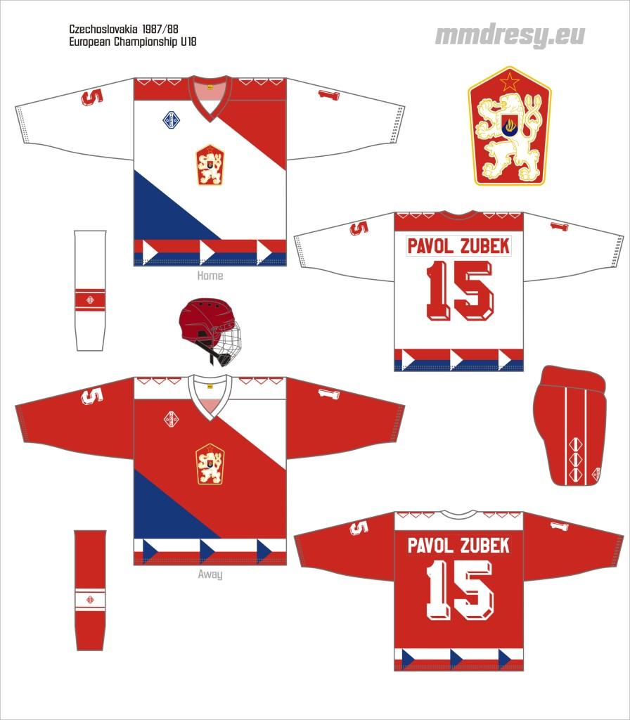 czechoslovakia 1987-88 j
