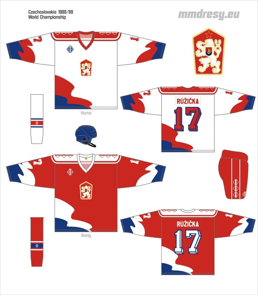 czechoslovakia 1988-89