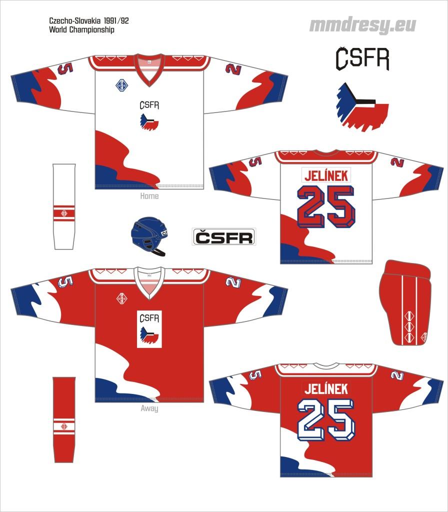 czechoslovakia 1991-92