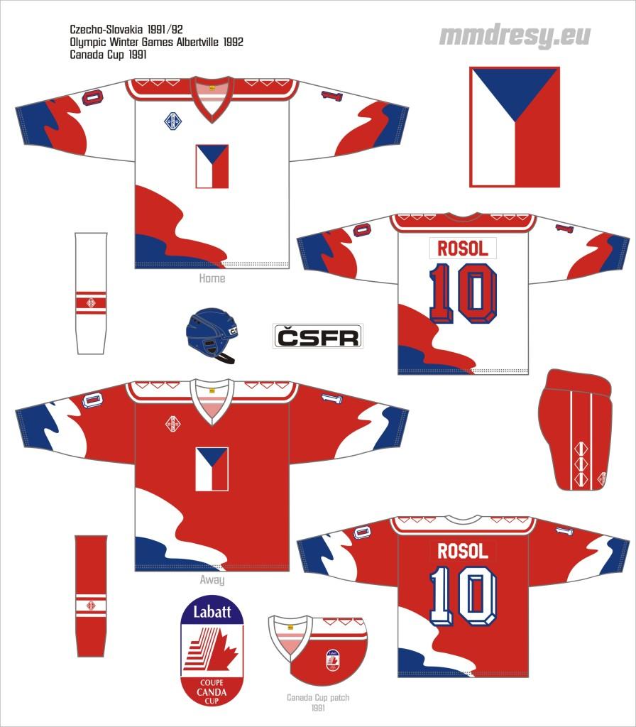 czechoslovakia 1991-92 owg, cc