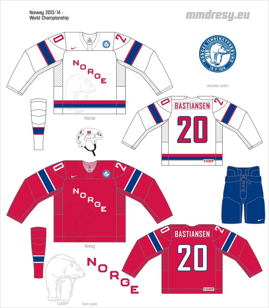 norway 2013-14 - wc jerseys