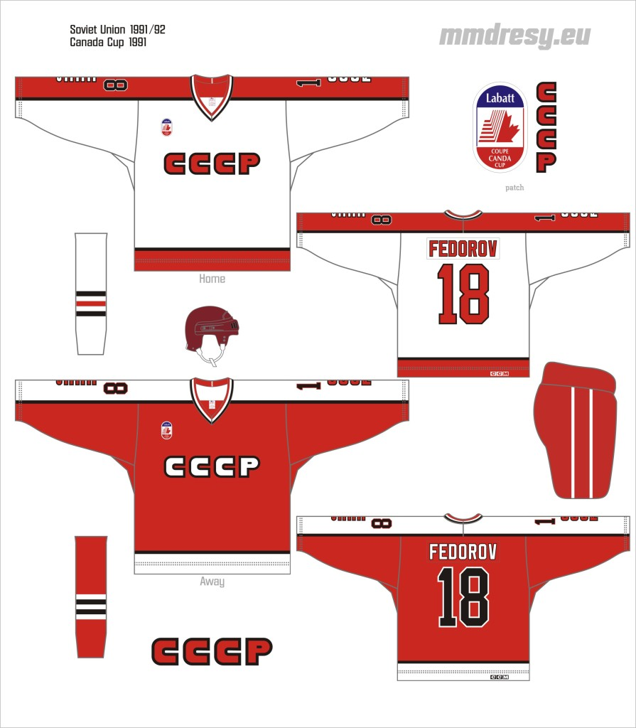 soviet union 1991-92 cc jerseys