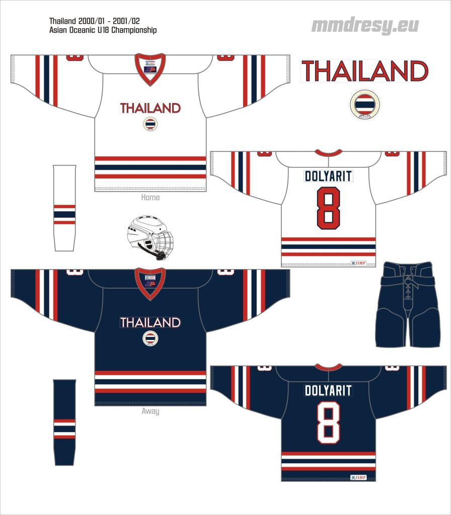 thailand 2000-01 - 2001-02
